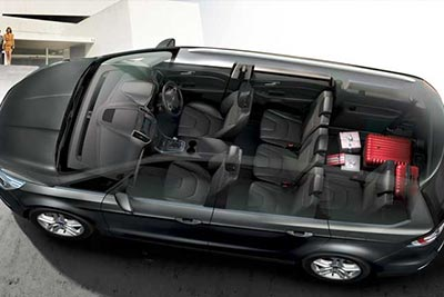 Ford Galaxy - Interior Luxury As Standard