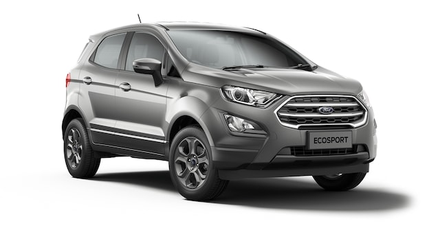 Ford New Ecosport - Available In Moondust Silver